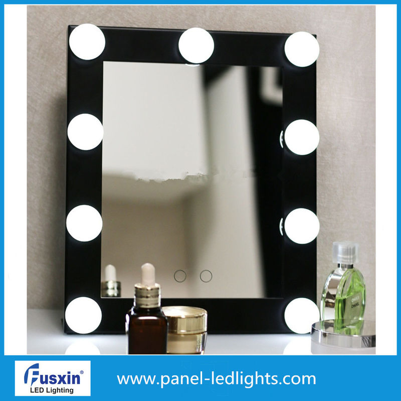 Pure White Portable Led Vanity Mirror No Pollution AC 220-240V
