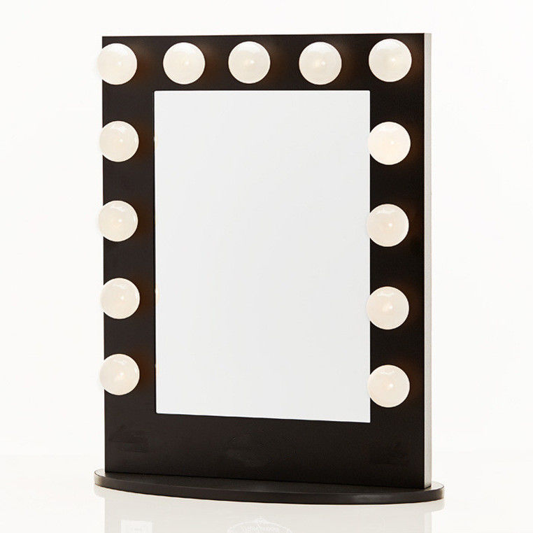 Large Desktop Led MakeUp Mirror Square Dressing Table Mirror With Lights